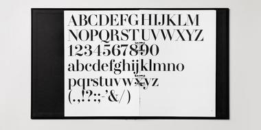 H&M typographic guideline