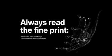 Read our eBook: Always read the fine print