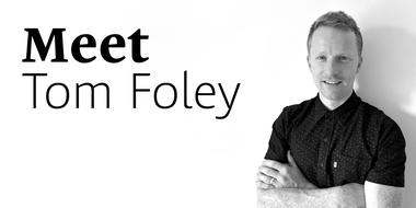 Meet Tom Foley, newest member of the Monotype Studio Team.