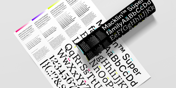 Introducing Macklin: A Typeface Superfamily Built for a New Generation of Design