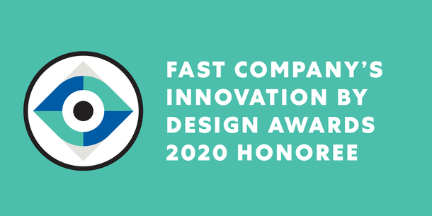 Ambiguity recognized as honoree in Fast Company 2020 Innovation by Design Awards.
