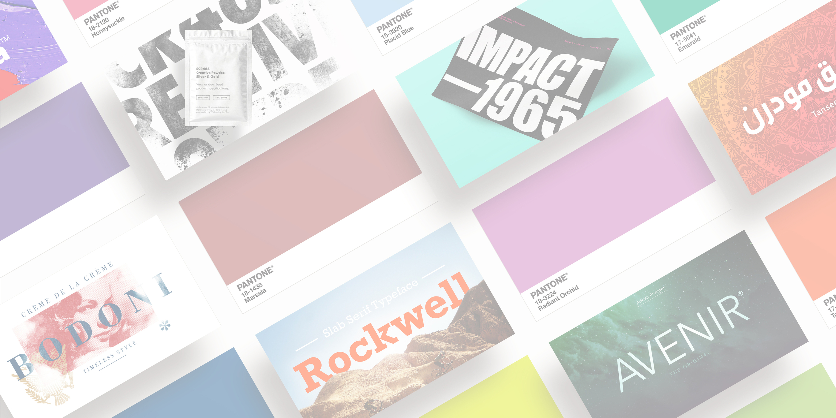 Pantone x Monotype: how colour and font make an iconic brand.