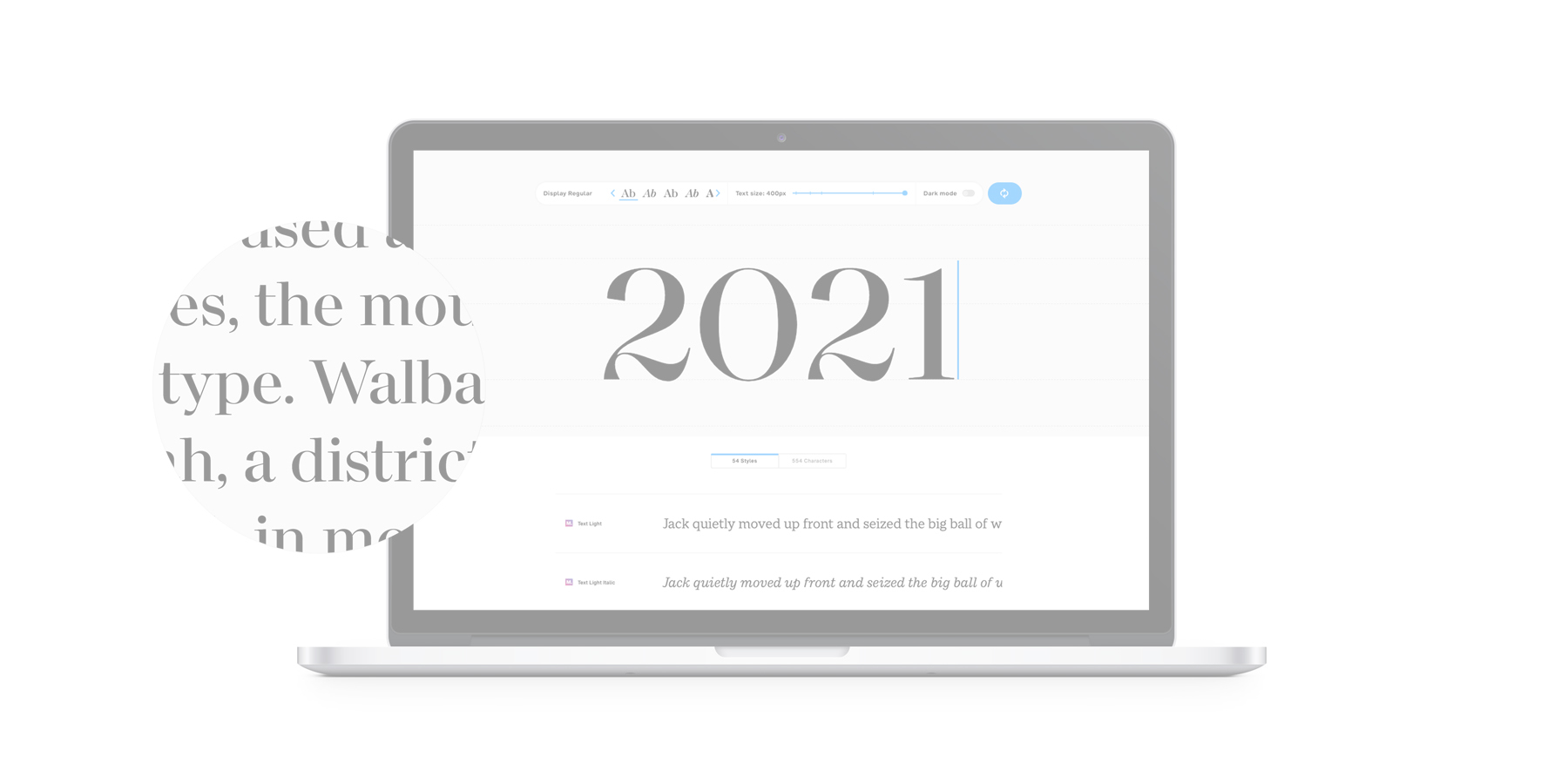Monotype Fonts: 2021 Product Roadmap