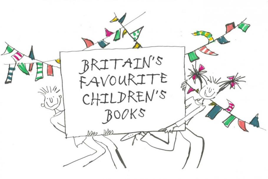 Quentin's typeface used on the television program Britain's Favourite Children's Books
