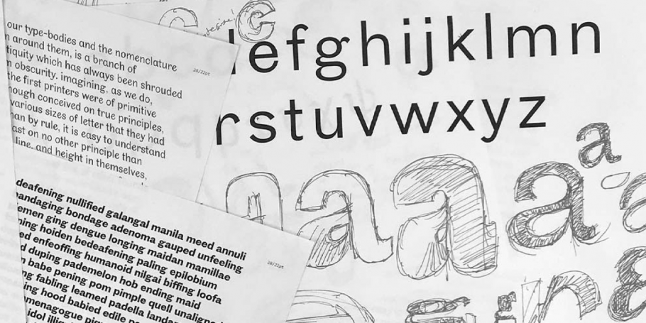 A collection of Emilios' sketches and printed letters